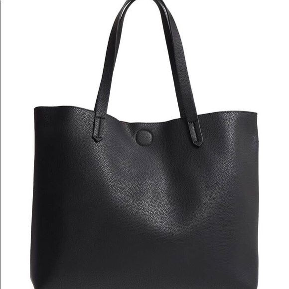 Nordstrom Bags   New Without Tags Faux Leather Tote   Poshmark 9ce8a106ad